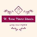 W. Rose Piano Sheets
